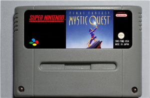 Final Fantasy Mystic Quest - RPG Game Card EUR Version Battery Save image