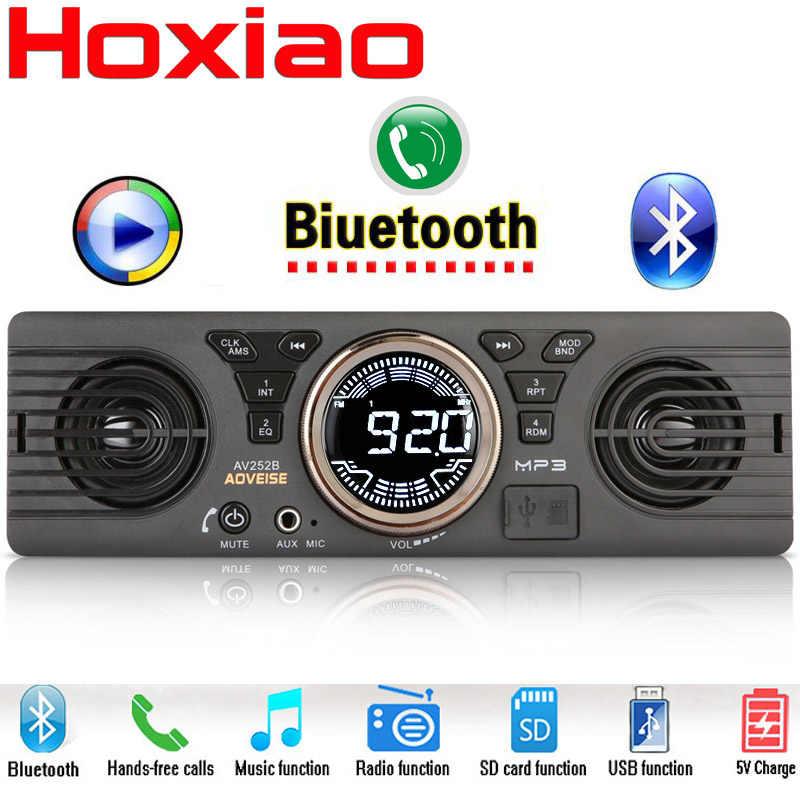 Автомобильный Радио MP3 плеер аудио стерео Поддержка FM Bluetooth USB SD AUX Встроенный 2