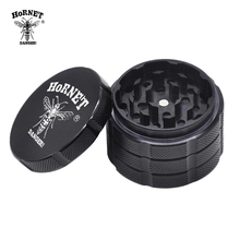 HORNET Premium Large 60MM 4 Piece Metal Smoking  Grinder Aircraft Aluminum Tobacco Herb Space Smoke Grinders