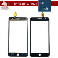 For Alcatel One Touch Pop Star 3G OT5022 5022 5022X Touch Screen Digitizer Sensor Outer Glass Lens Panel Replacement new for 7 prestigio multipad wize 3797 3g pmt3797 3787 pmt3787 pb70a2616 touch screen panel digitizer glass sensor replacement