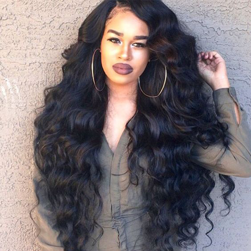 250 High Density Full Lace Human Hair Wigs Brazilian
