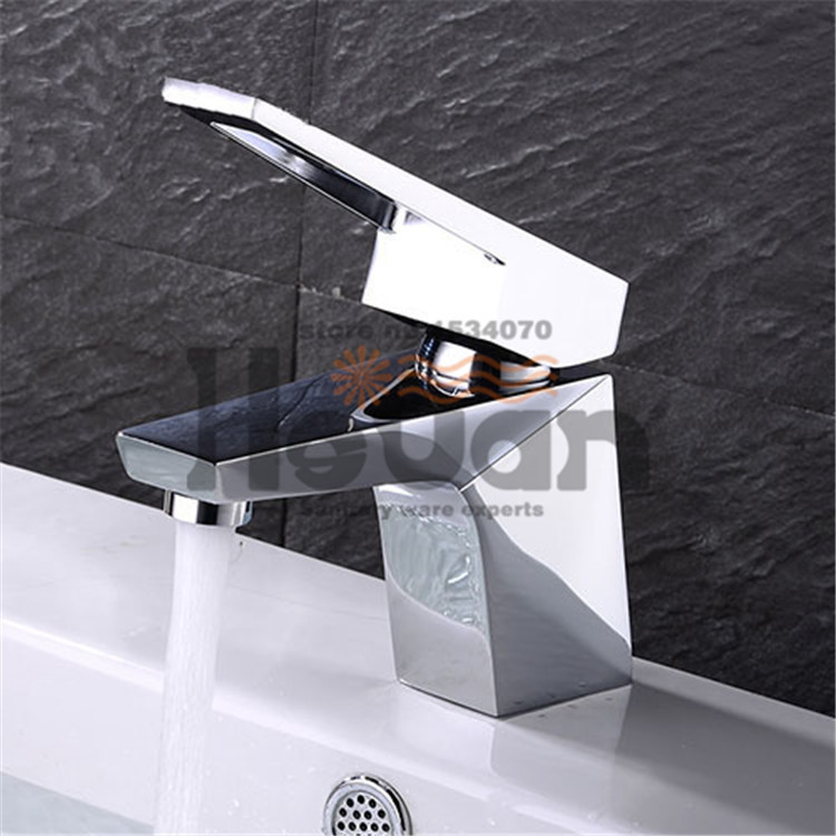 High quality bright polished bathroom Sanitary ware hot and cold mixer basin faucet Modern design water tap pastoralism and agriculture pennar basin india