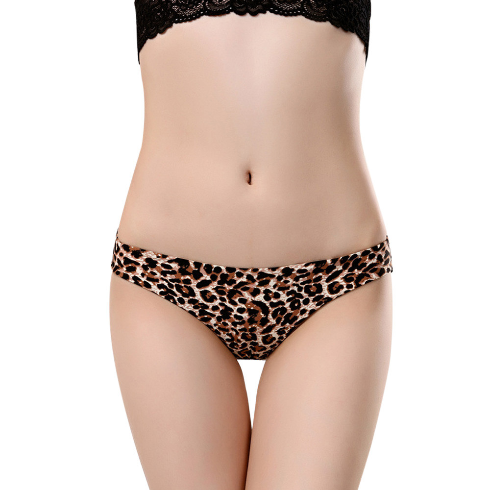 Floral Print Sexy Briefs Women's Seamless   Panties   Cotton Nylon Female Ladies Teen Girls Woman   Panty   Lingerie Underwear Intimates