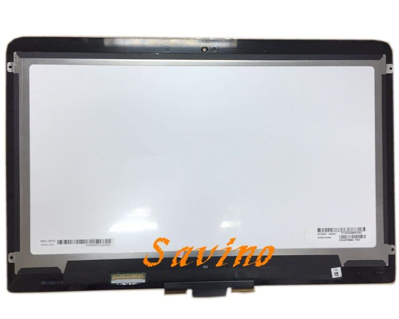 LP133QH1 SPA1 ЖК-дисплей Сенсорный экран планшета Ассамблеи для hp сильнее 13T-3000 3010