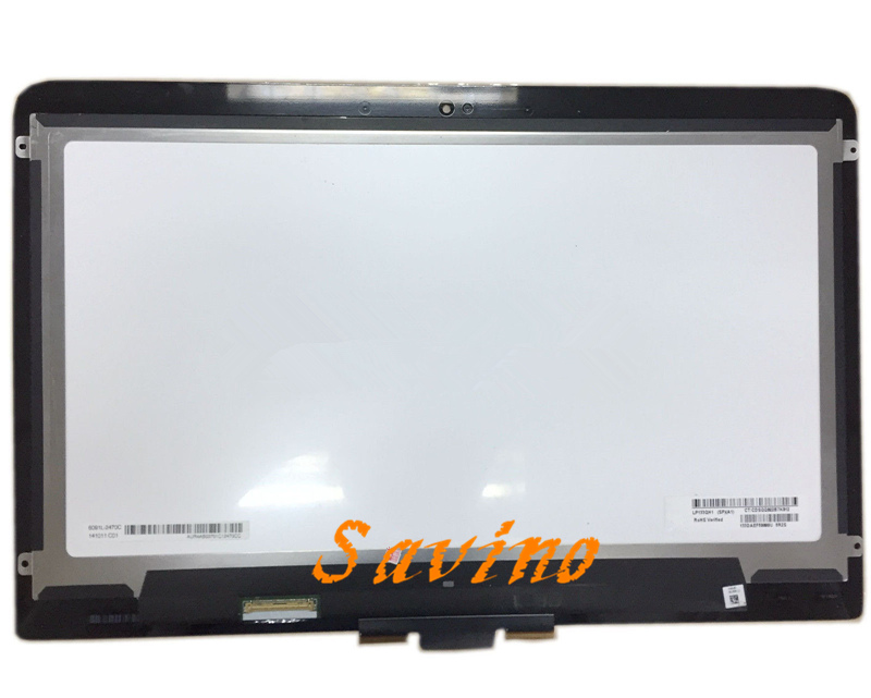 LP133QH1 SPA1 LCD Touch Screen Digitizer Assembly For HP Spectre 13T-3000 3010