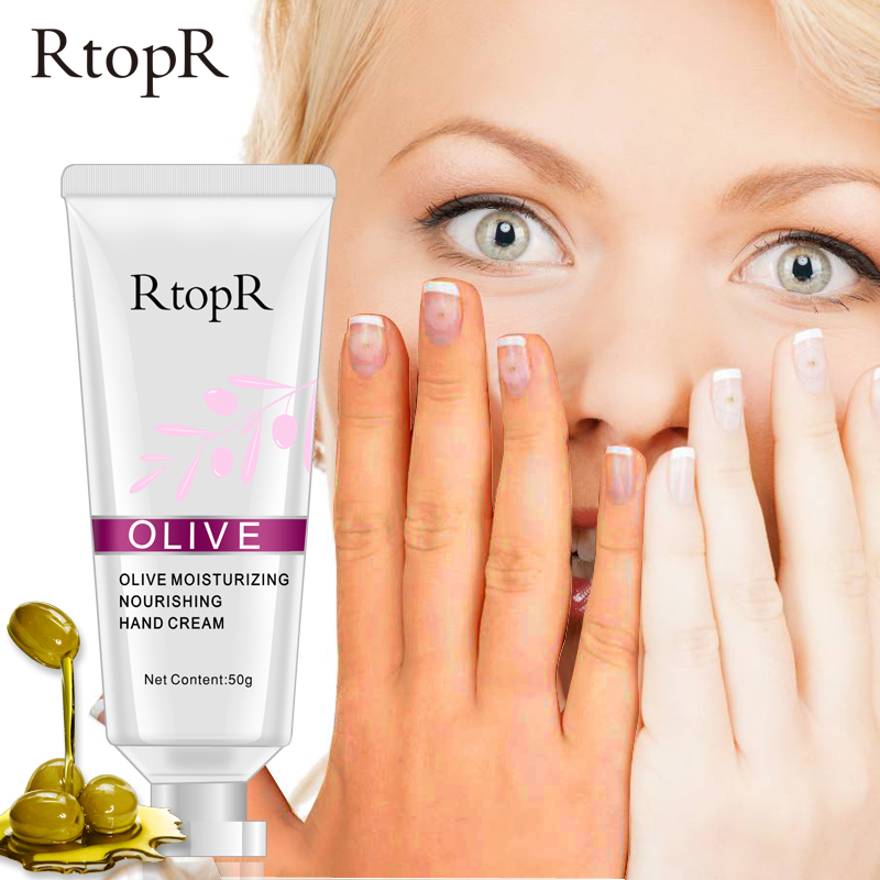 цена New RtopR Olive Oil Serum Repair Hand Cream Nourishing Hand Care Anti Chapping Anti Aging Moisturizing Whitening Hand Cream