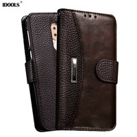 For Huawei Honor 6X Case PU Leather Magnetic Flip Cover Dirt Resistant Phone Bags Cases For