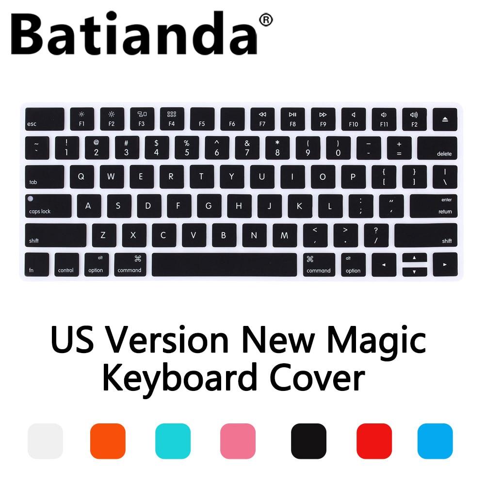 New US Version Magic Wireless keyboard Silicone Keyboard