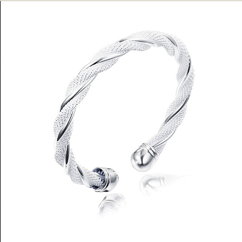 KUNIU Vintage Bangle Silver Bangle Match for Gift Women\'s Bracelet ...