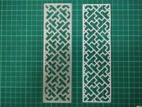 Vertical Hollow Box Metal Die Cutting Scrapbooking Embossing Dies Cut Stencils Decorative Cards DIY Album Card