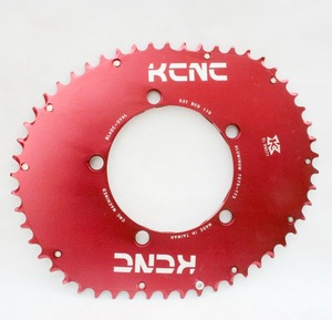 Image 2 - KCNC K5 להב השני מלבני סגלגל chainring 110bcd כביש אופני chainring סגלגל 53T 39T 5 זרוע 114g 58g קל במיוחד תוצרת טייוואן