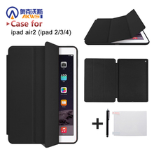 PU leather cover case for ipad 9.7 air 1 2 ipad 5 Gen ipad 6 Gen smart cover case for IPAD 2 3 4 multi colors case стоимость