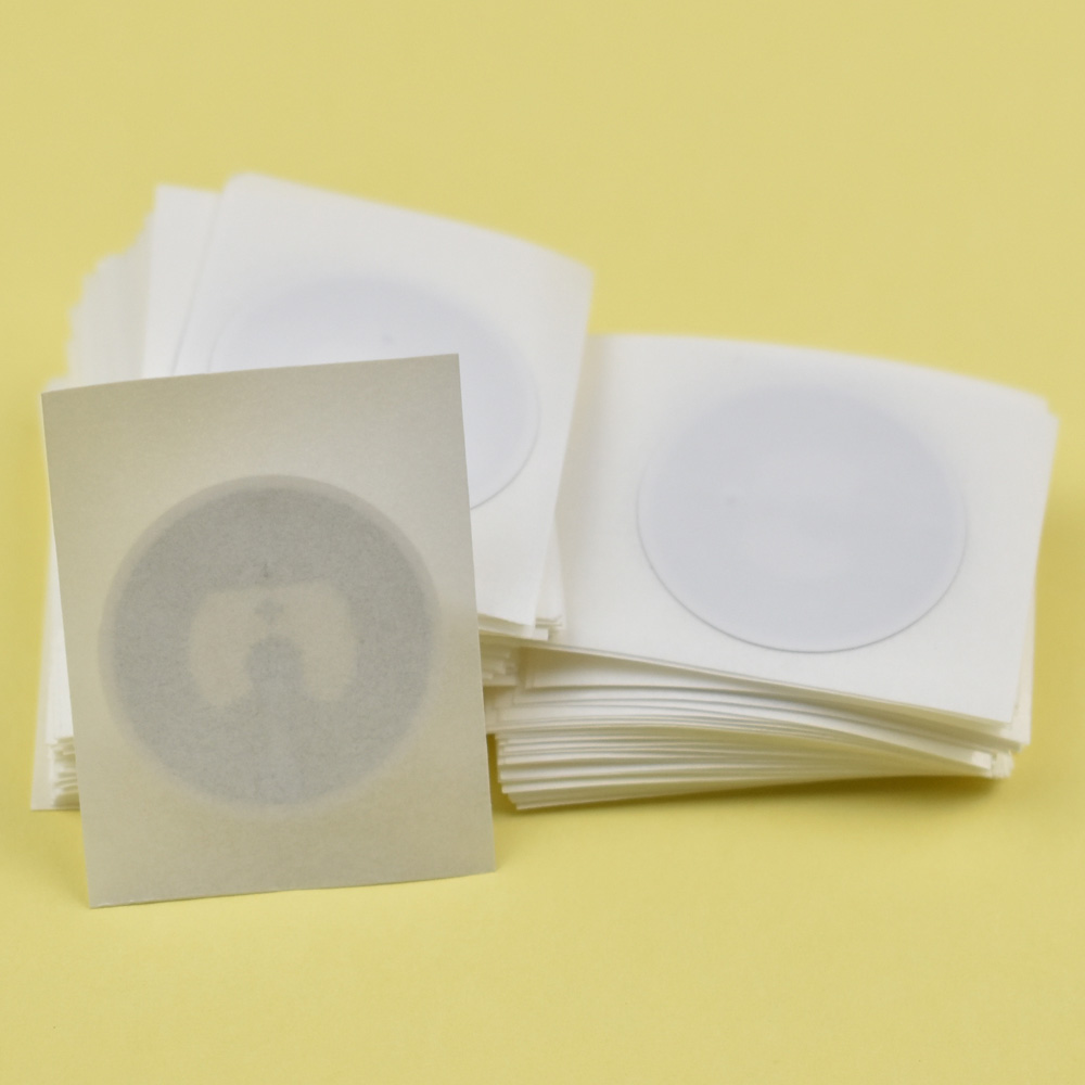 5pcs/Lot 25mm round Epaper rfid label sticker tag 13.56MHz ISO14443A NTAG215 NFC Sticker Tag For Tagmo