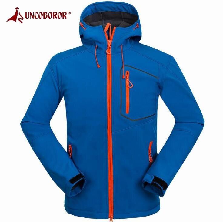 Жутко и boror Пеший Туризм флисовая куртка Для Мужчин