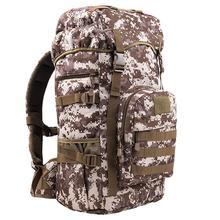 Saco tático Militar mochila 50L Ao Ar Livre camping caça caminhadas mochilas homens mochila de esportes saco mochila 1.3 KG à prova d' água