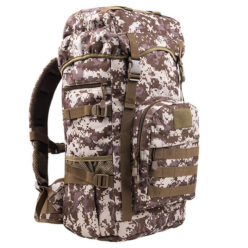 Tactical bag Military backpack 50L Outdoor camping hunting backpack men sports waterproof bag knapsack 1.3KG hiking backpacks new arrival 38l military tactical backpack 500d molle rucksacks outdoor sport camping trekking bag backpacks cl5 0070
