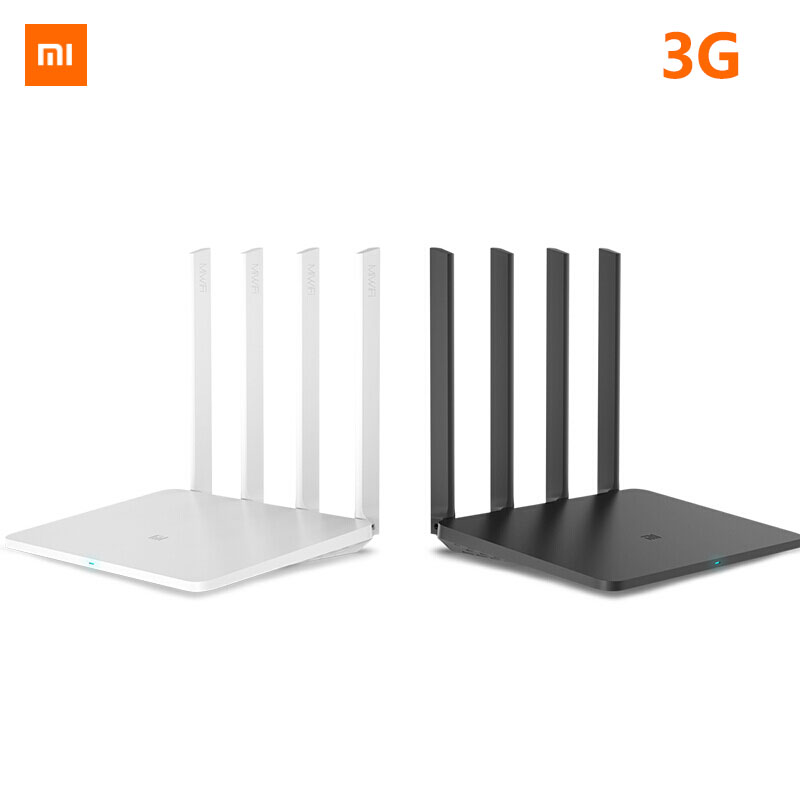 Original Xiaomi Mi WiFi Router 3G 1167Mbps 2.4GHz 5GHz Dual Band 128MB ROM Wi-Fi 802.11ac Four Powerful High-Gain Antennas