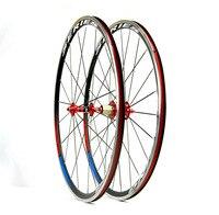 light weight Clincher Bicycle aluminum Alloy Wheels GUB Hub Pillar spokes R730 Hub 700C Road Alloy Bike Wheels