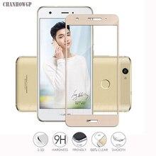 9H 2.5D Che Phủ Toàn Bộ Kính Cường Lực Cho Huawei Nova CAN L11 Tấm Bảo Vệ Màn Hình CAN L12 CAN L03 CAN L13 CAN L01 CAN L02 Bảo Vệ