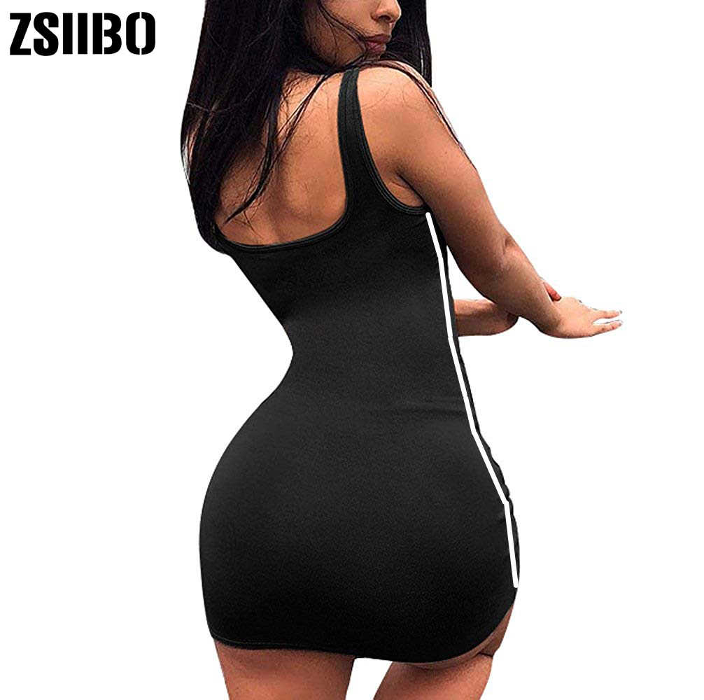 ZSIIBO เซ็กซี่ผู้หญิงฤดูร้อนผ้าพันแผล Bodycon ชุดราตรีปาร์ตี้ชุดมินิมินิสั้น 2019 แฟชั่นเสื้อผ้าผู้หญิง