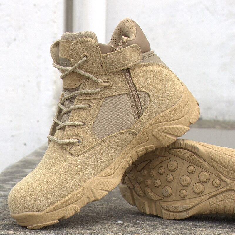 Exército Deserto Militar Sapatos Tático Pouso Homens De Do Livre Ar Caminhadas Commando Ao Combate 2017 Botas EHqYww