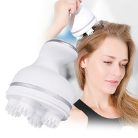 Electric Scalp Massager 3D Head Massage claw Kneading vibrating strength adjustable USB Charging Prevent hair loss Health care