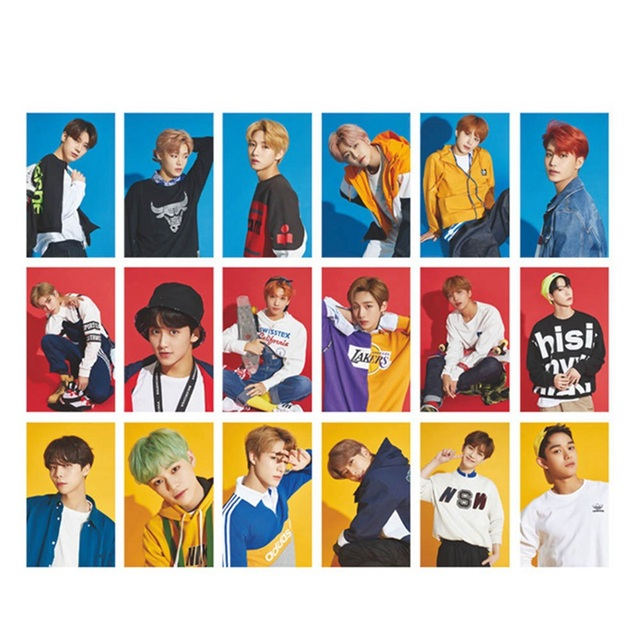 1Pc 2019 New KPOP NCT U 127 Empathy Album Taeyong Mark Self Made Autograph  Photocard Paper Cards Poster