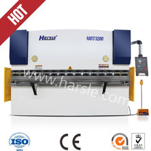 Hydraulic press brake for sale CNC controller WC67K 63t bending machine