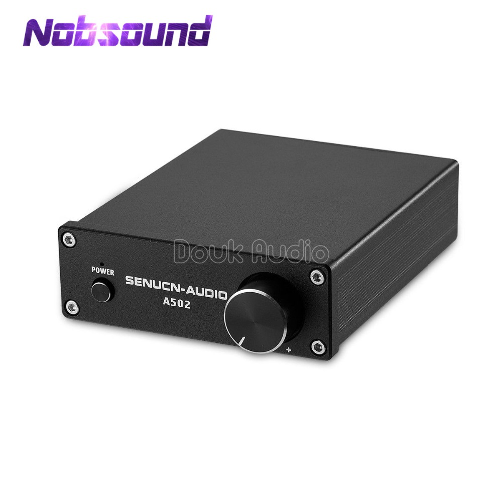 Nobsound Mini Digital Power Amplifier TPA3116D2 HiFi Stereo Audio Amp 50W*2 for Home Speakers все цены