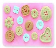Прямые продажи fda новые кнопки для украшения торта формы выпечки