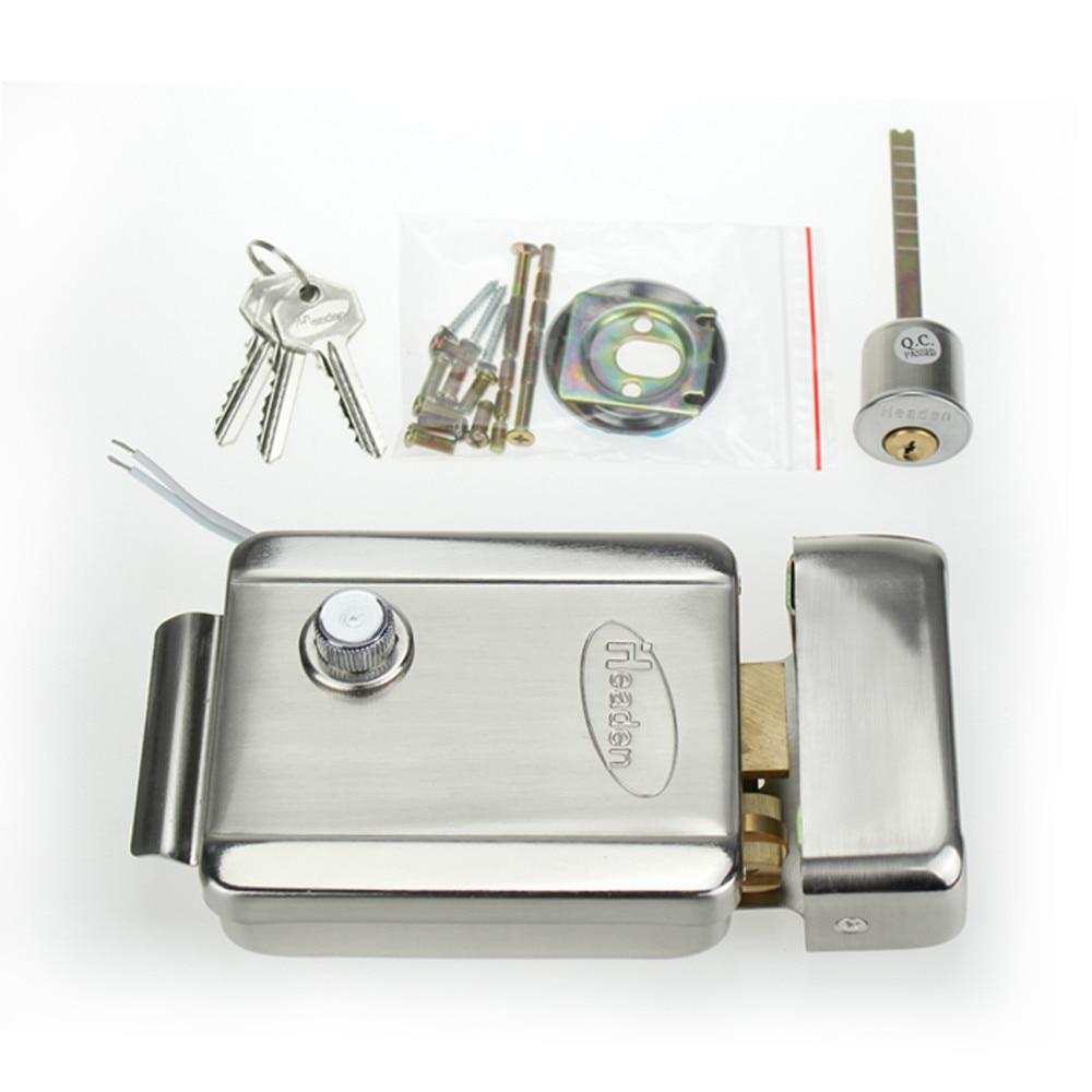 RFID-Türzugangskontrollsystem-Kit-Set mit digitaler Tastatur mit - Schutz und Sicherheit - Foto 2