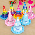 Birthday Hat Festive Kid Party Decorations Supplies Children Loves Paper Ball Beauty Party Celebration