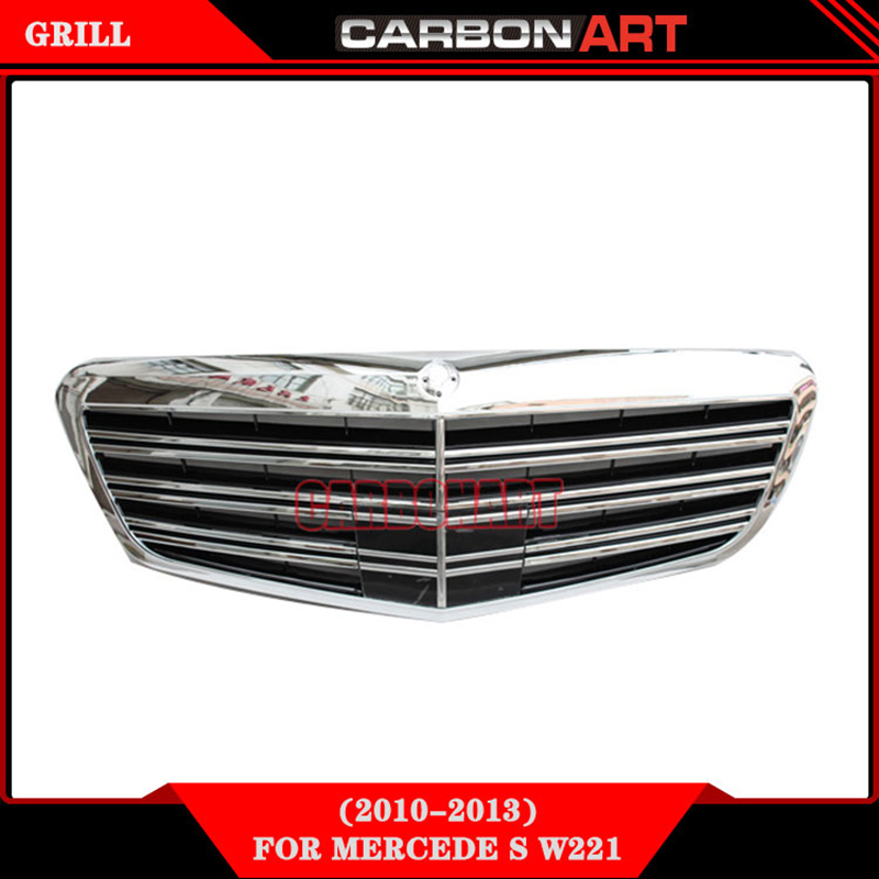 Front Bumper Auto Vehicle Grill For S Class W221 Mercedes S65 AMG Design Spare Parts 2010-2013