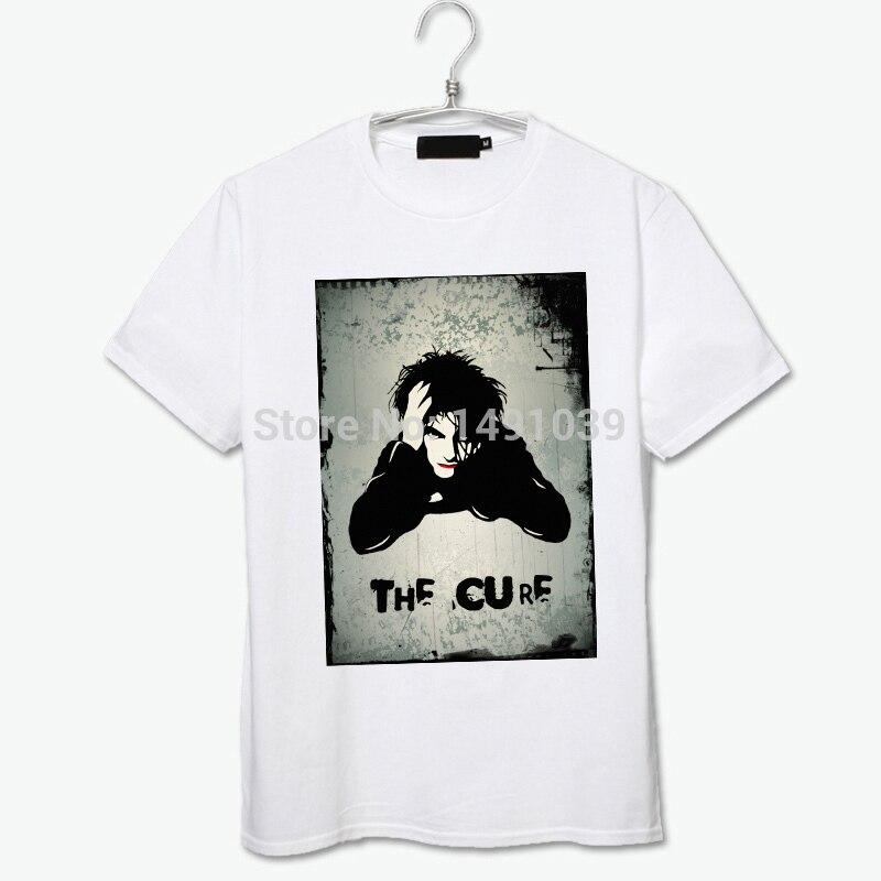 ⊱Viernes estoy en amor puro algodón blanco camiseta la cura - a644 2059a9966b8