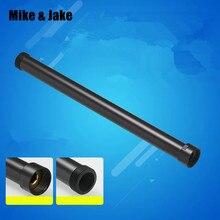 Черная Удлиняющая труба для душа 30 см длина душевой смеситель трубы латунные душевые шланги для ванны showwr прямая труба 30 см длина