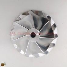 HX40/HX40W Turbocompressore Billet Ruota del Compressore 60X86mm, 7/7 fornitore di parti AAA Turbocompressore