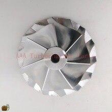 Turbocompressor de pneu de bileta hx40/hx40w, peças do turbocompressor da roda 60x86mm, 7/7