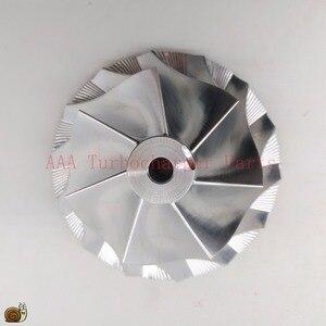 Image 1 - Turbocompressor de pneu de bileta hx40/hx40w, peças do turbocompressor da roda 60x86mm, 7/7