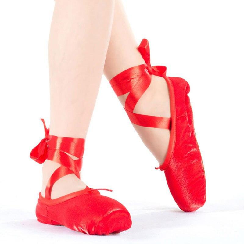 pointe sapatos de dança para as mulheres