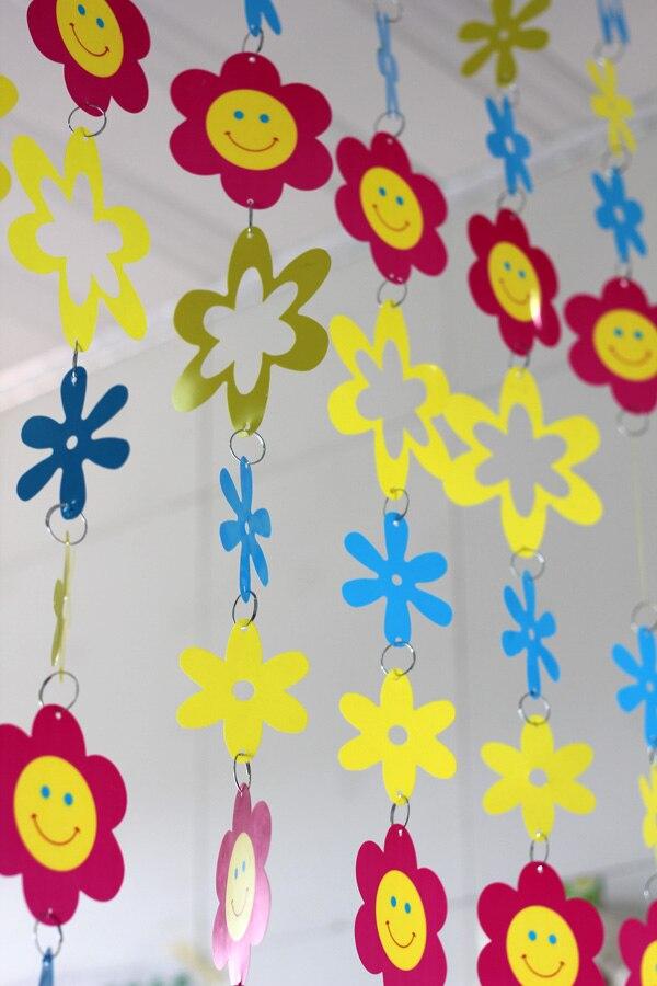 Cizgi filmi Uşaq otağı Dekorativ plastik pərdələr Daxili ev - Ev dekoru - Fotoqrafiya 4