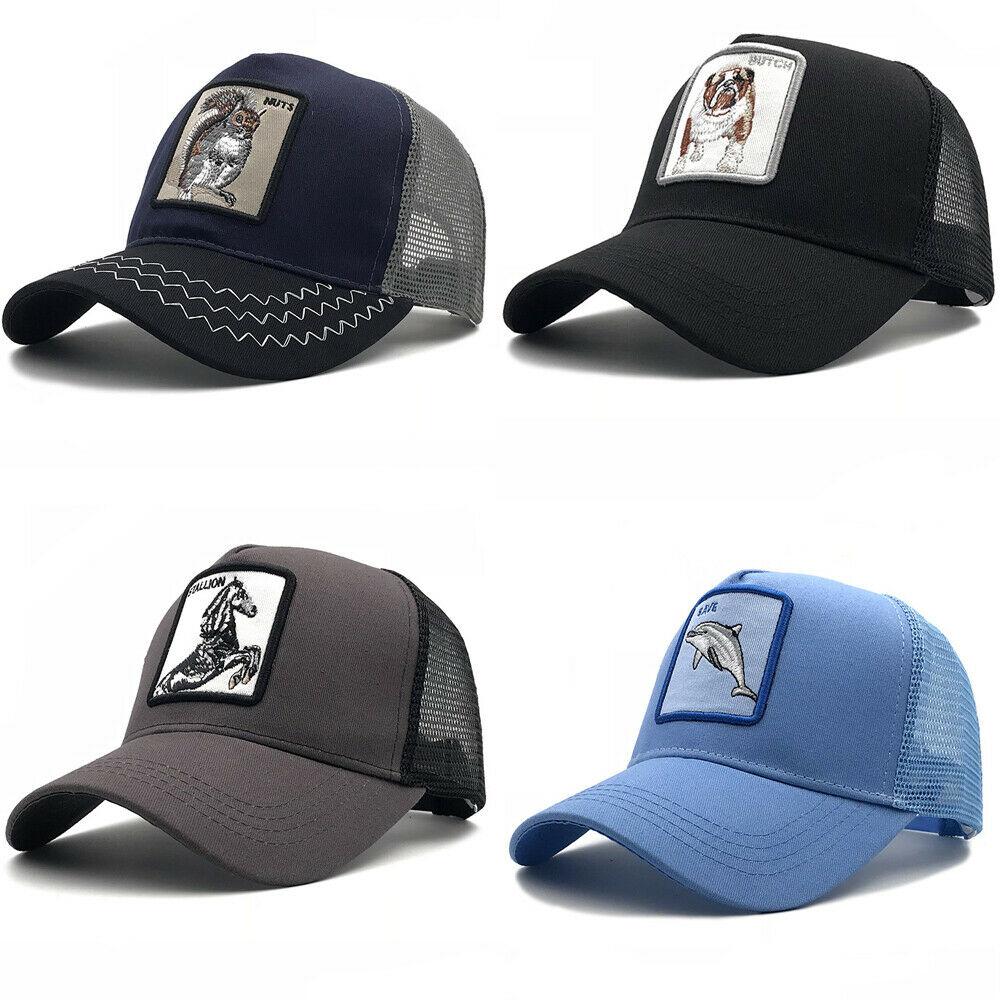 Hat Baseball-Cap Farmer Unique Trucker Animal-Design Adjustable Sports Fashion Women