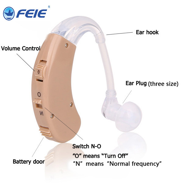 Analog Deaf knowles speakers hearing aid bte Machine For Hearing Loss S-998 ear wax removal tool Drop Shipping aparelho auditivo 8 channel cic hearing aid loss for severe deaf s 17a drop shipping