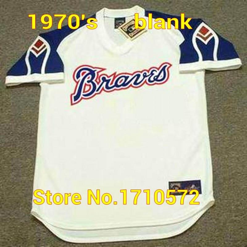 check out a0a59 053e7 Cheap Vintage Men's Atlanta Braves Shirts #Blank 15 JOE ...
