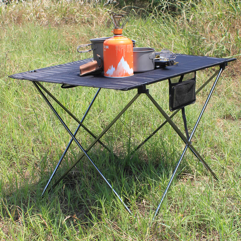 Portable Foldable Table Camping Outdoor Furniture Computer Bed Tables Picnic 6061 Aluminium Alloy Ultra Light Folding Desk-in Outdoor Tables from Furniture