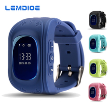 LEMDIOE Q50 Smart Watch Phone Kid Safe GPS LBS Wristwatch SOS Call Location Tracker for Children Baby Anti Lost Watch PK Q60 Q90
