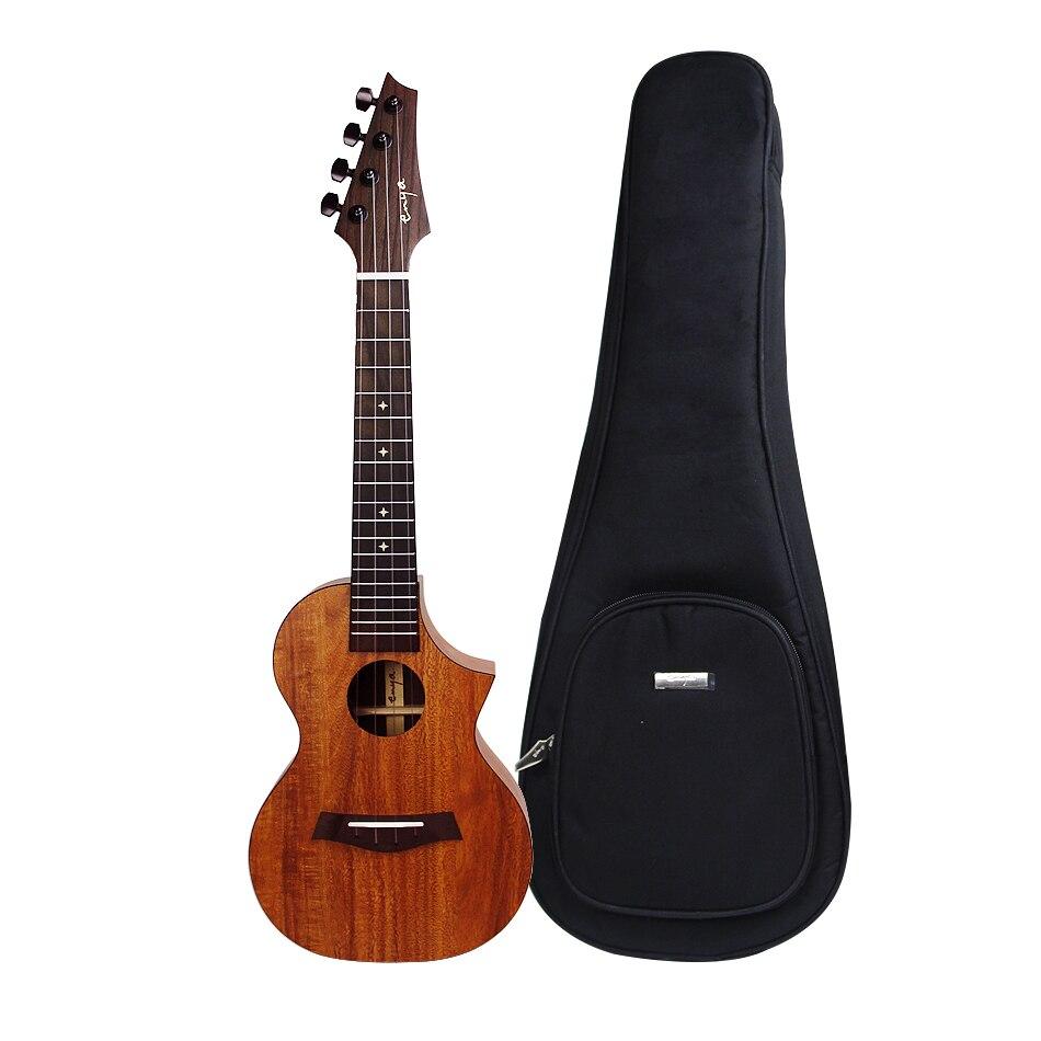 Enya EUC-X1CE 23 inch Concert Ukulele with Customized Pickup Mahogany neck 12mm waterproof soprano concert ukulele bag case backpack 23 24 26 inch ukelele beige mini guitar accessories gig pu leather