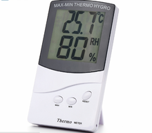 цена на High Precision Indoor Digital LCD Thermometer Hygrometer High Quality Household Electronic Temperature Humidity Meter L214