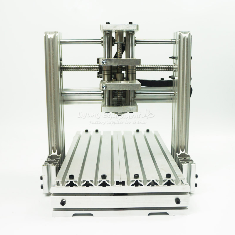 DIY CNC machine 2520 frame kit Engraving Milling wood cnc router diy cnc machine 2520 base frame kit for wood router engraving no tax to russia
