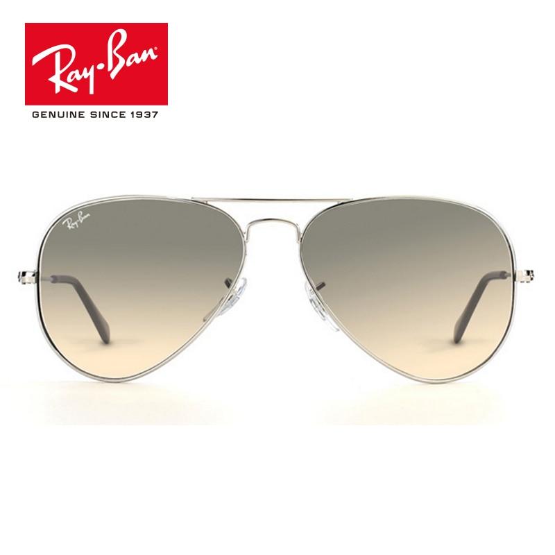 Rayban 2018 Original Pilot Outdoor Sunglasses Men Women Brand Designer Sun Glasses RB3025-003/32 triumph vision male luxury brand sunglasses for men pilot cool shades 2016 original box sun glasses for men uv400 gradient lens