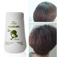 Пушистые волосы порошок увеличение объема волос захватывает стрижку унисекс моделирование укладки волос лечение порошок одноразовый воск для волос